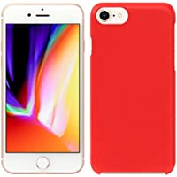 「Breeze-正規品」iPhone ・ スマホケース ポリカーボネイト [Red] Apple iphone 8 iphone8 ケース iphone 8 カバー アイフォン8 ケース SIMフリーカバー 液晶保護フィルム付 全機種対応 [I8]