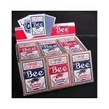 Bee (ビー) [ポーカーサイズ] 【レッド / ブルー】 1ダース