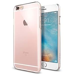 【Spigen】 iPhone6s ケース, シン・フィット [ パーフェクト フィット ] アイフォン6s 用 カバー (クリスタル・クリア SGP11591)