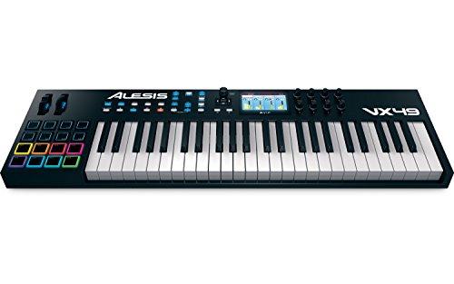 ALESIS アレシス カラーLCD搭載49鍵MIDI キーボード パッド VX49 【日本国内イケベ楽器独占販売モデル】
