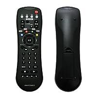 Hanwha / 異なる機器4台の設定が可能 学習機能付き 汎用TV/AVリモコン UMA-PLRM03 [プリセット機能付き][学習リモコン]