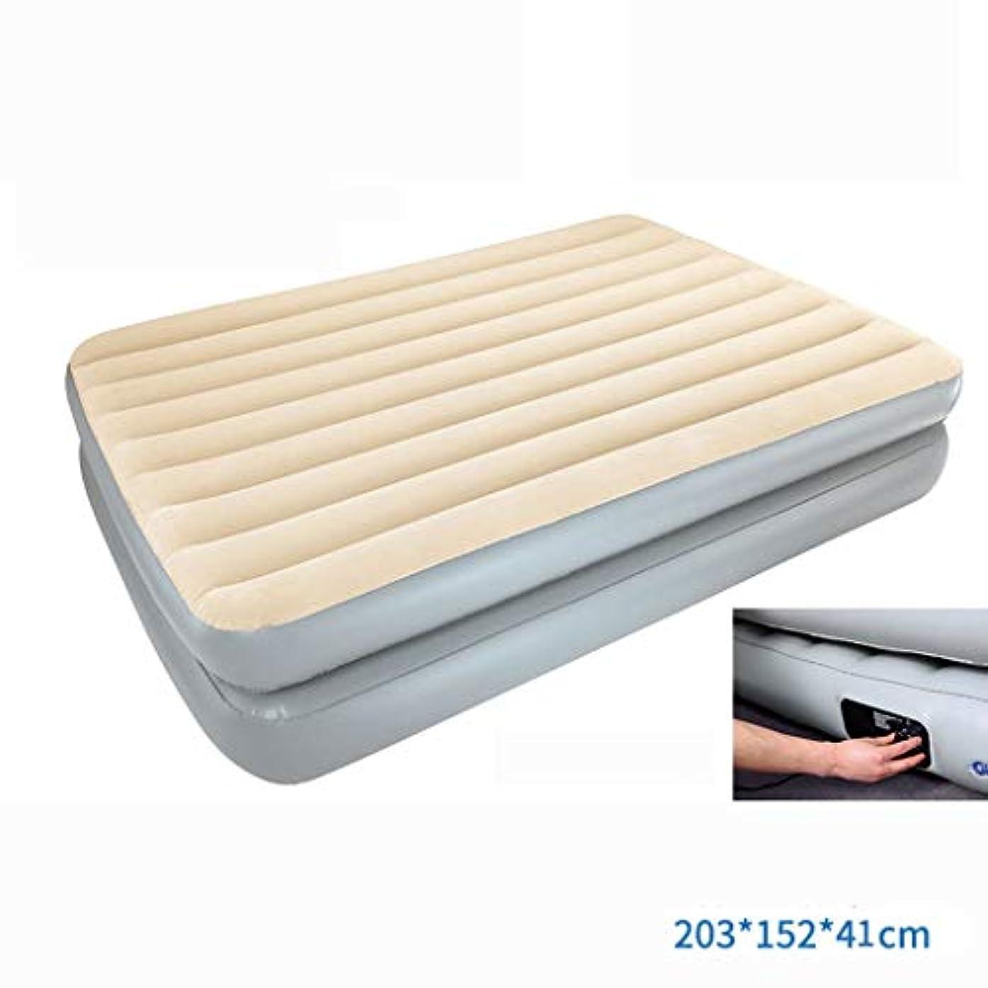 習熟度エンコミウム精査するベッド、二重層の高さの膨脹可能なマットレスのエアクッションの世帯の膨脹可能なベッド(色:9)