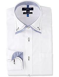 [タカキュー] TAKA-Q 形態安定スリムフィット 2枚衿ドゥエボタンダウンステッチシャツ メンズ 110214619291833