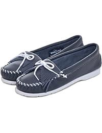 (ミネトンカ) MINNETONKA モカシン KILTY UNBEADED キルティアンビーデッド スエード モック レディース 本革 靴 [204 209] [並行輸入品]