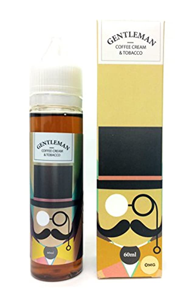 防ぐ回路スイGENTLEMAN(ジェントルマン) 60ml 電子タバコ海外製リキッド COFFEE CREAM & TOBACCO(コーヒークリーム&タバコ)