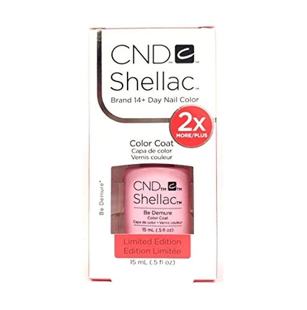 裏切り司書独立したCND Shellac - Limited Edition! - Be Demure - 15ml / 0.5oz