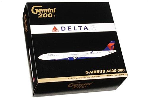 1:200 ジェミニジェット 200 G2DAL305 エアバス A330-300 ダイキャスト モデル デルタ Air Lines N801NW【並行輸入品】