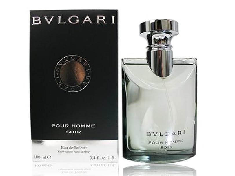 征服香ばしい綺麗なBVLGARI ブルガリ ソワール プールオム 100ml EDT オードトワレ (並行輸入品)