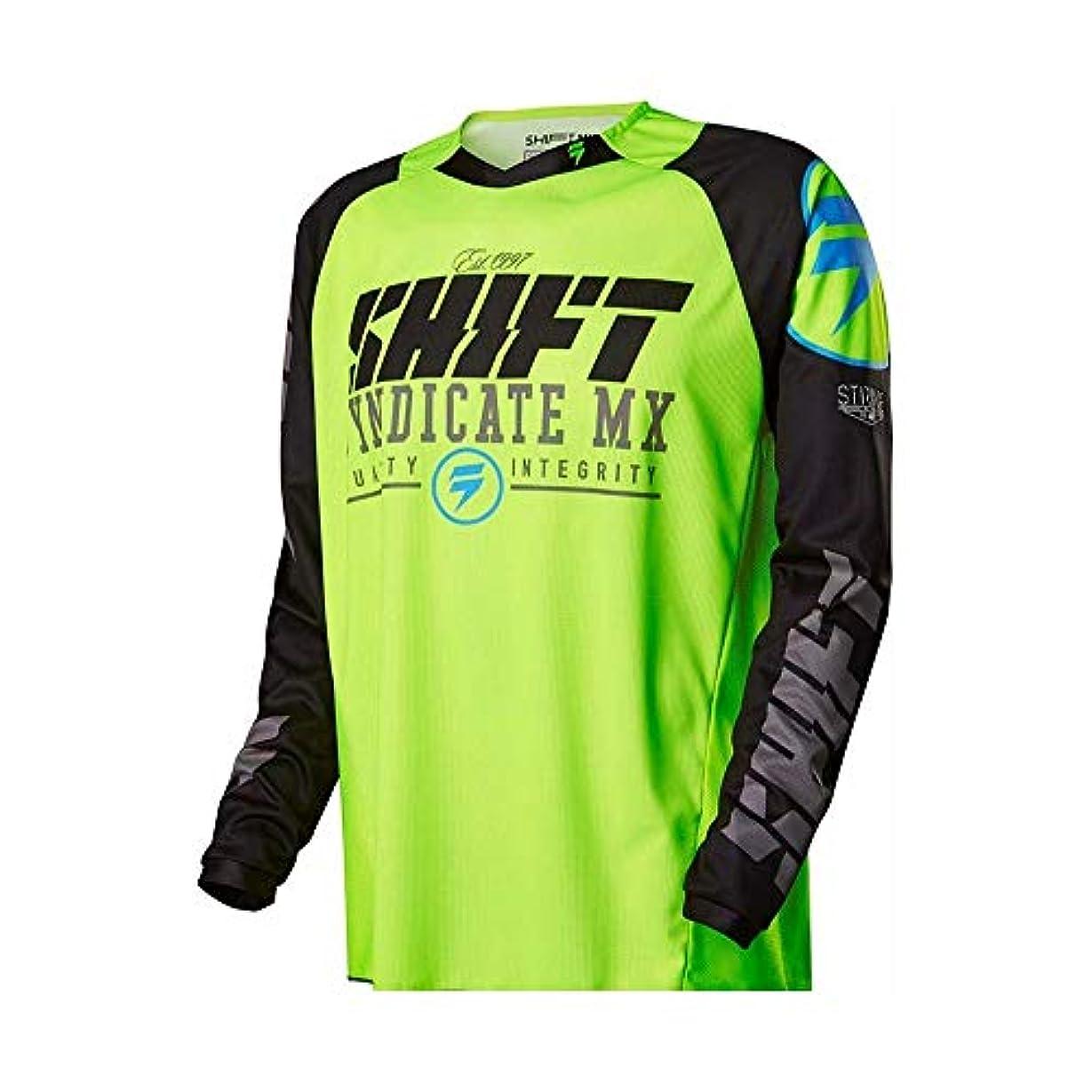 キーさわやかつかの間CXUNKK オートバイのオフロード服に乗って夏のアウトドアライディングスピードの服長袖シャツメンズマウンテンバイク (Color : 13, Size : S)