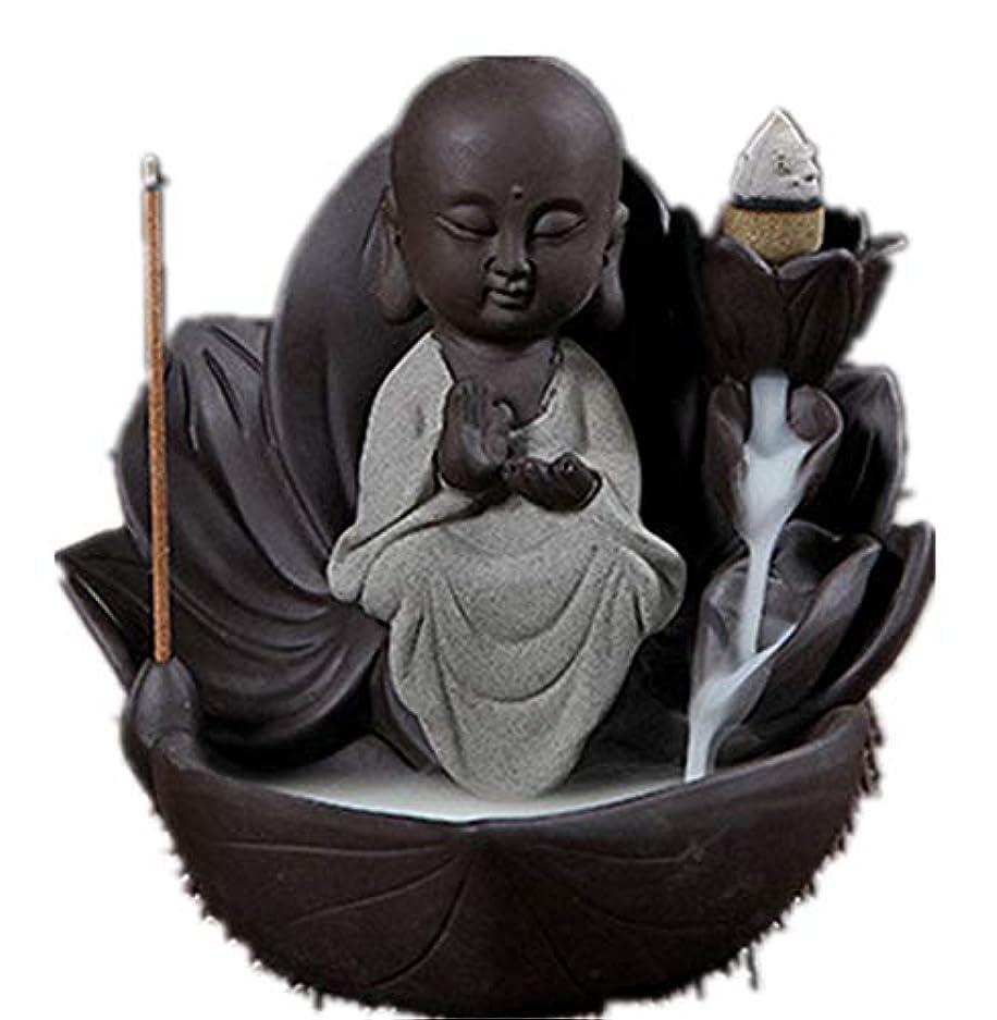 熱心記念碑的な怒りXPPXPP Backflow Incense Burner, Household Ceramic Returning Cone-shaped Candlestick Burner