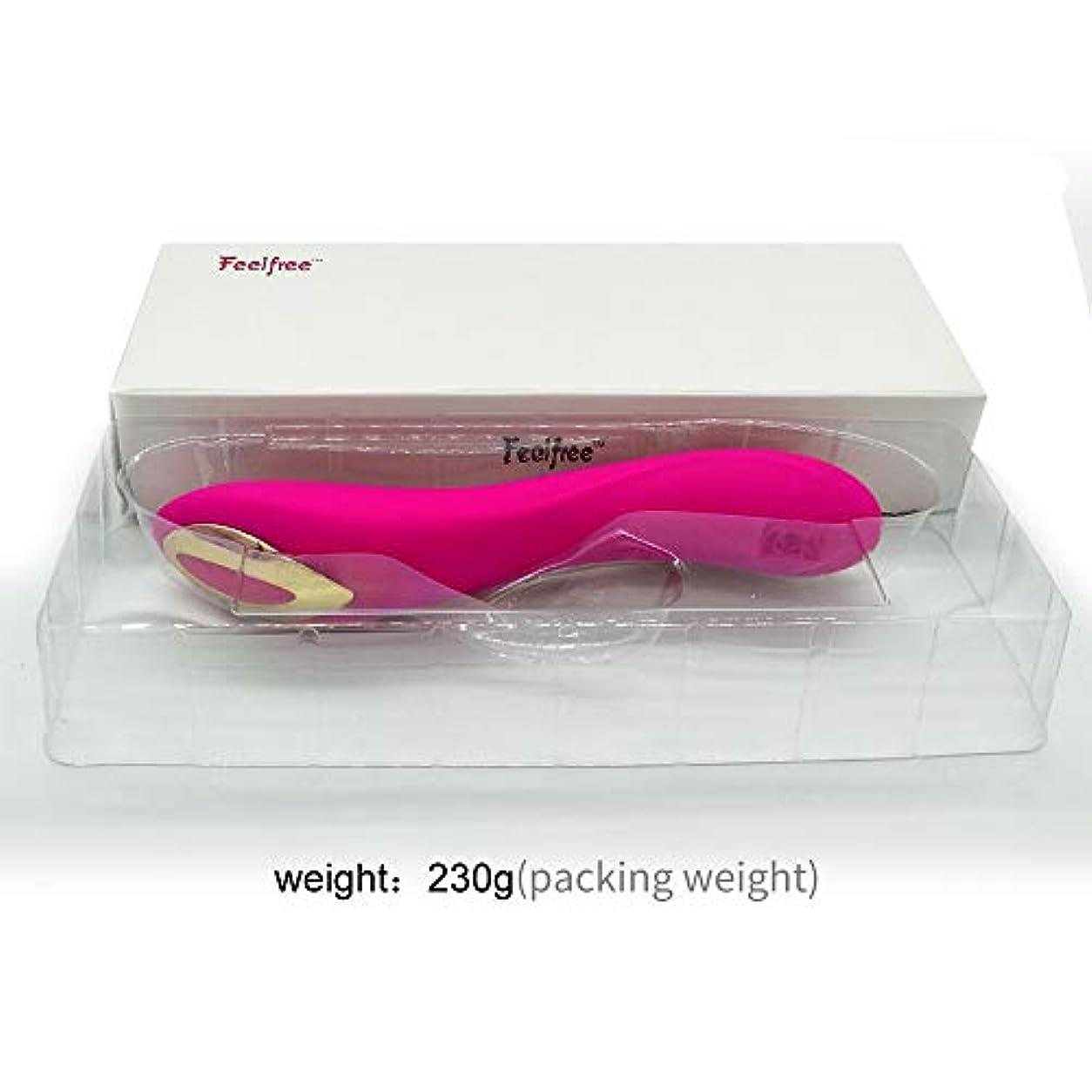 Rabugoo 大人のおもちゃ 女性のカップルのための乳首前立腺Gスポット刺激大人のおもちゃのための10の強い振動シリコーン防水バイブレーターを持つクリトリス膣バイブレーター ローズレッド