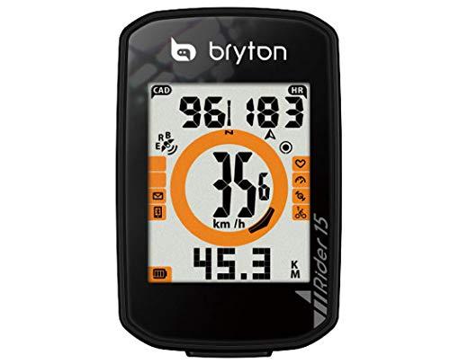 BRYTON(ブライトン) RIDER 15C (ライダー15C) GPSサイクルコンピューター(ケイデンスセンサー付) TB0F0R015CBLK