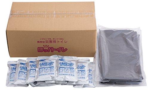エクセルシア 簡易トイレ  ほっ! トイレ タブレット 50g×100袋 (ビニール袋110枚付) HTB-001