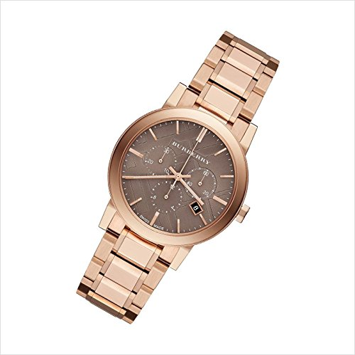 BURBERRY バーバリー 腕時計 BU9754 ユニセックス The City Chronograph シティ クロノグラフ ローズゴールド 並行輸入品