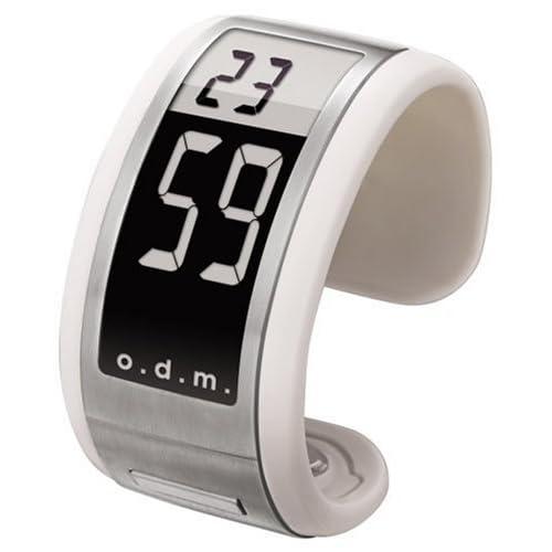 [オーディーエム]o.d.m 腕時計 FilmaticⅡ (フィルマティック) デジタル表示 スリムケース シルバー FilmaticⅡ-03 レディース 【正規輸入品】