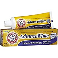 Arm & Hammer Advance White Fluoride Anti-Cavity Toothpaste with Baking Soda & Peroxide - 4.3 oz by Arm & Hammer [並行輸入品]