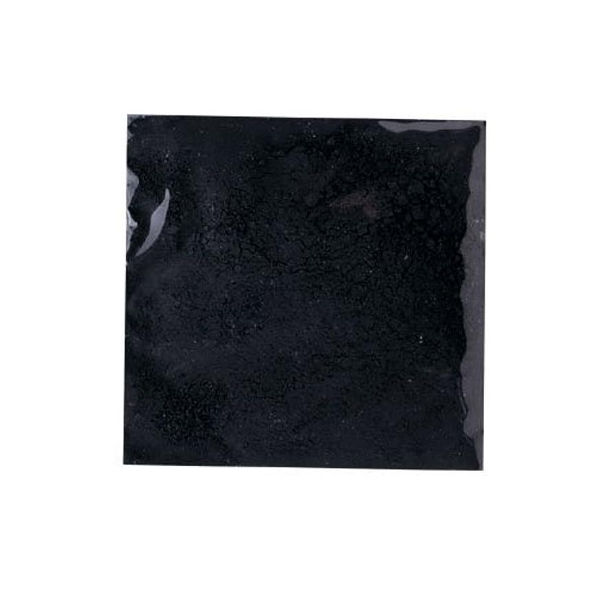 拒絶するコークススクラブピカエース ネイル用パウダー ピカエース カラーパウダー 着色顔料 #710 ジェットブラック 2g アート材