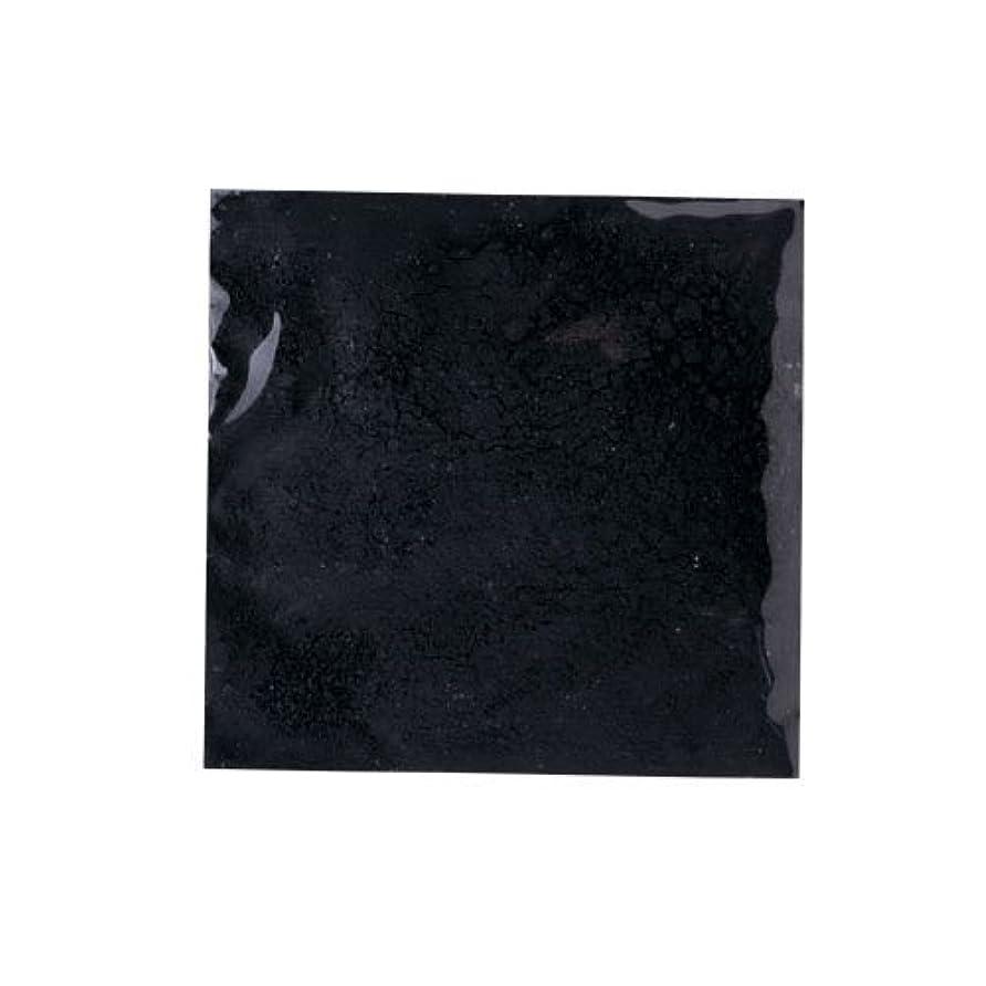 感情のちらつき銀行ピカエース ネイル用パウダー ピカエース カラーパウダー 着色顔料 #710 ジェットブラック 2g アート材