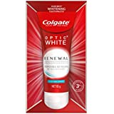 Colgate Optic White Renewal Lasting Fresh Teeth Whitening Toothpaste with Hydrogen Peroxide Enamel Safe Tooth paste 85g