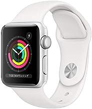Apple?Watch Series?3(GPSモデル)- 38mmシルバーアルミニウムケースとホワイトスポーツバンド