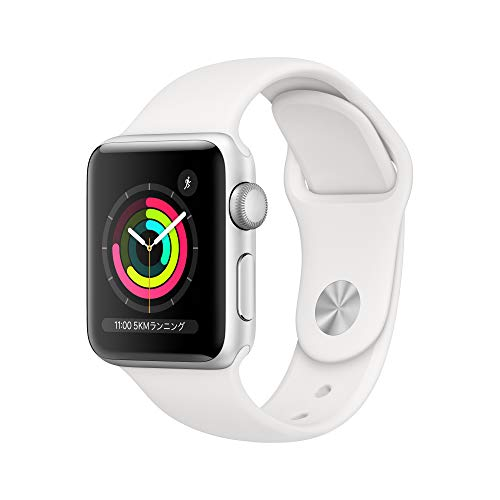 「Apple Watch Series 3(38mmシルバーアルミニウム)」がAmazonで21,780円+2,000ポイント還元