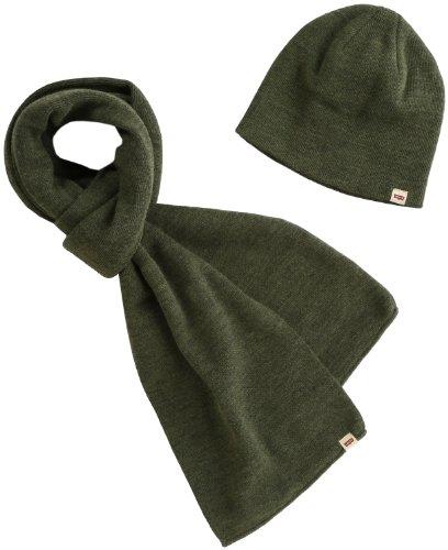 2013年秋冬モデル ニット帽&スカーフ ギフトボックス リーバイス