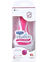 Schick Intuition Pomegranate Extract Renewing Moisture レイザー+1エキストラカートリッジ [並行輸入品]