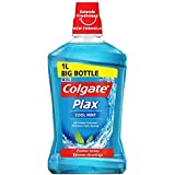 [Colgate ] コルゲートPlaxクールミントマウスウォッシュ1リットル - Colgate Plax Cool Mint Mouthwash 1L [並行輸入品]