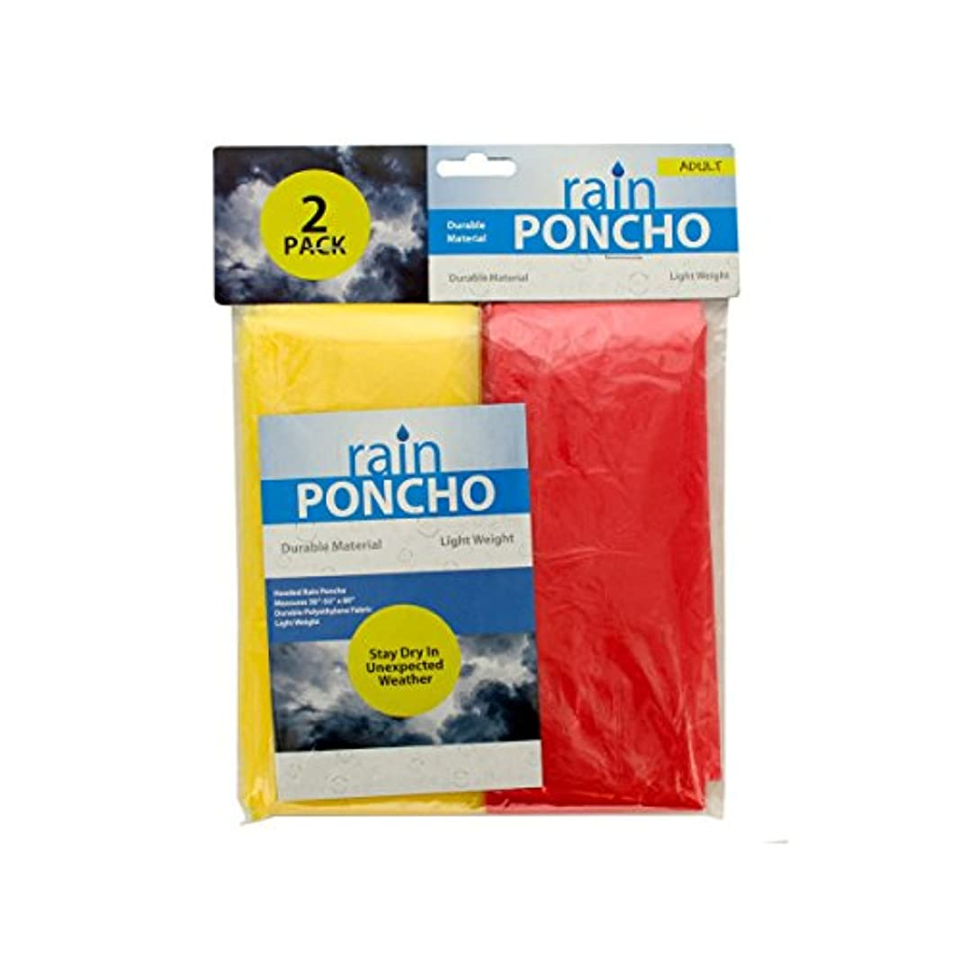 蒸留トリッキー憂鬱Emergency Rain Ponchos - Case of 96 by bulk buys