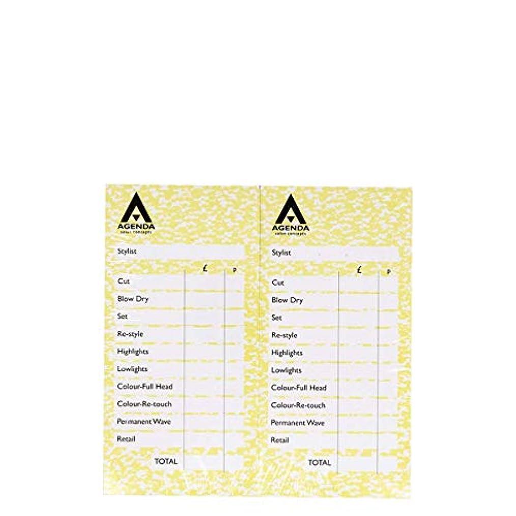 ブロンズコークスマーティンルーサーキングジュニアアジェンダ サロンコンセプト チェックパッドイエロー12x100リーフ[海外直送品] [並行輸入品]