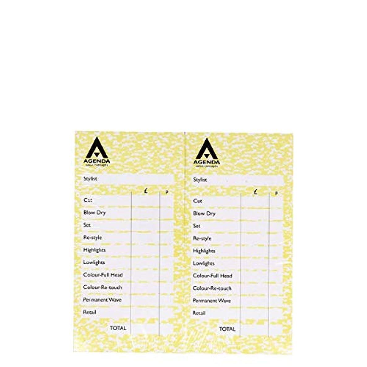 摂氏度格差リテラシーアジェンダ サロンコンセプト チェックパッドイエロー12x100リーフ[海外直送品] [並行輸入品]