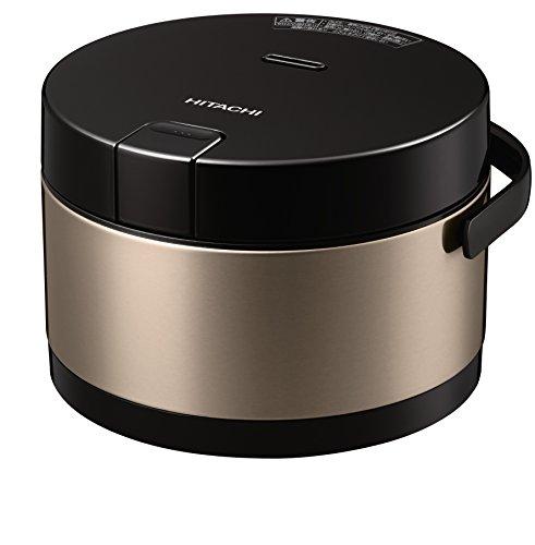 日立IH炊飯器打込鉄釜おひつ御膳2.0合ブラウンゴールドRZ-WS2MN