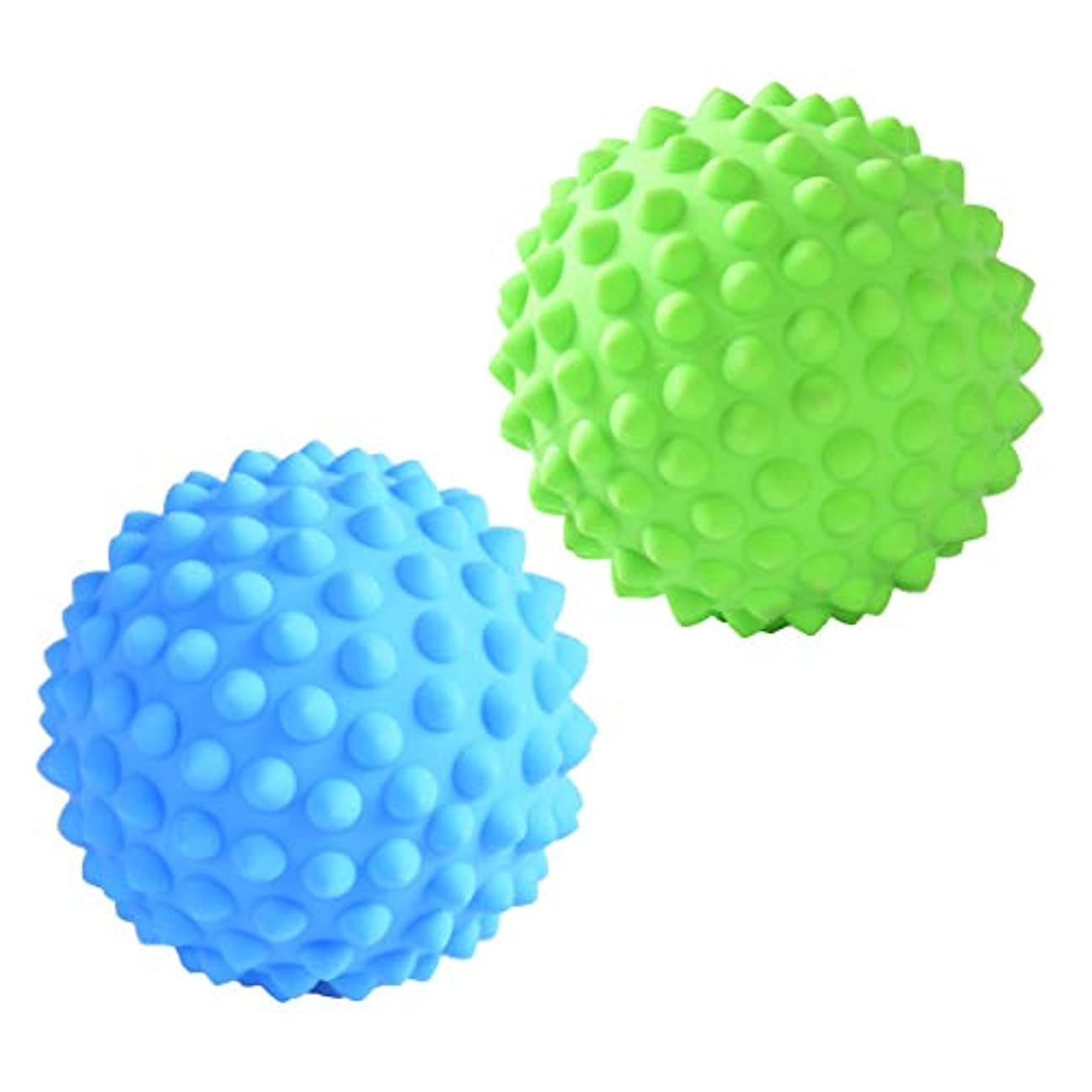 トランザクション見る人新鮮なD DOLITY マッサージローラーボール マッサージローラー 指圧ボール トリガーポイント ツボ押しグッズ 2個入