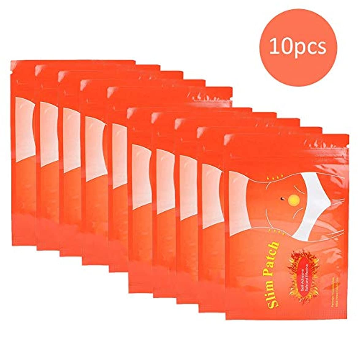 許されるインチラジウムNitrip ダイエットシール ダイエットパッチ 10pcs スリミングボディーパッチ 脂肪燃焼 男女兼用 無毒 安全