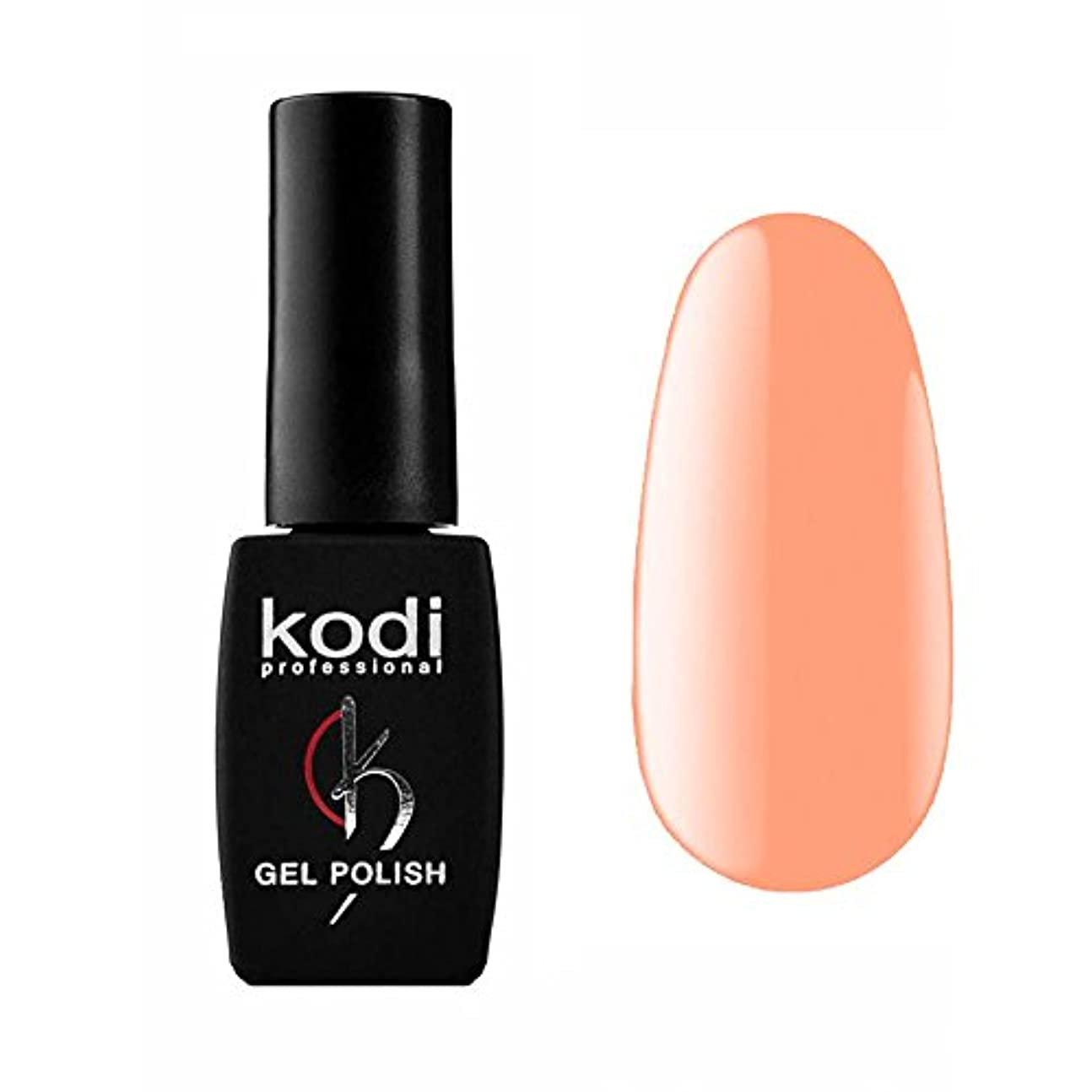 怠惰メーカー泥Kodi Professional New Collection BR BRIGT #100 Color Gel Nail Polish 12ml 0.42 Fl Oz LED UV Genuine Soak Off