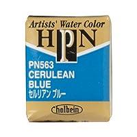 ホルベイン 固形水彩絵具 アーチストパンカラー セルリアンブルー PN563 ハーフパン