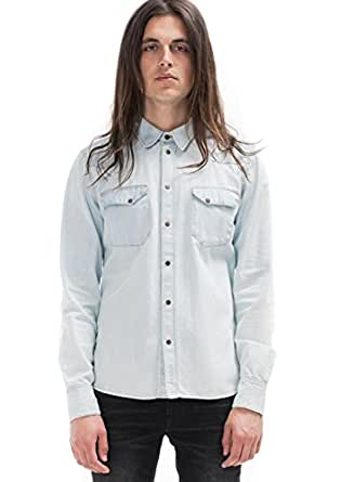 [ヌーディージーンズ] Nudie Jeans メンズ OLD GLORY DENIM Jonis デニムシャツ ダンガリーシャツ