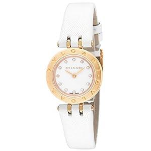 [ブルガリ]BVLGARI 腕時計 B-ZERO1 ホワイト文字盤 K18PG/ステンレス BZ23WSGCL/12 レディース 【並行輸入品】