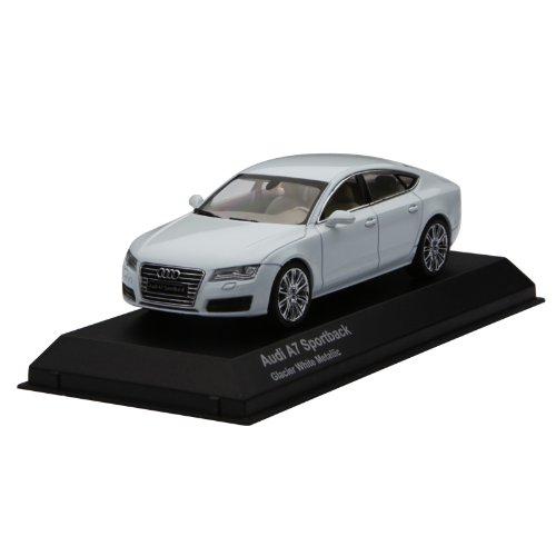 1/43scale 京商 Kyosho  Audi A7 Sportback  Glacier White Metallic アウディ スポーツバック