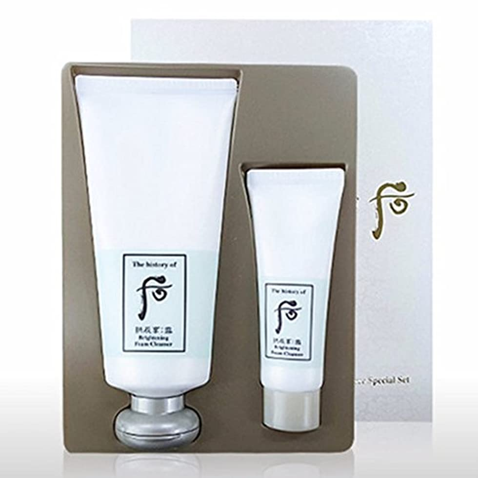コテージ息子エレガント【フー/The history of whoo] Whoo 后 GONGJIN HYANG SEOL Brightening Cleansing Foam Special Set/后(フー) 拱辰享(ゴンジンヒャン) 雪...