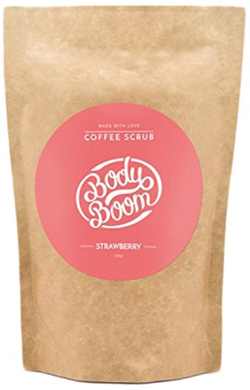 小学生発送ブリークコーヒースクラブ Body Boom ボディブーム ストロベリー 30g