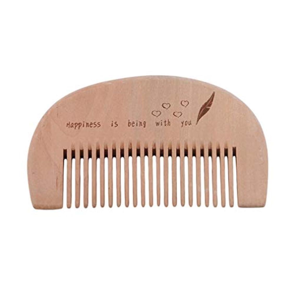前砂漠強制MARUIKAO ヘアブラシ 半月形 木製櫛 美髪ケア 静電防止コーム メンズ レディース用