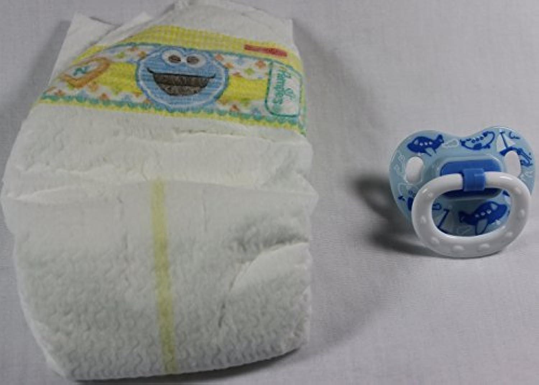 Reborn Baby Dolls OOAK Diaper Pamper & Boy Modified Putty Pacifier Airplane Set