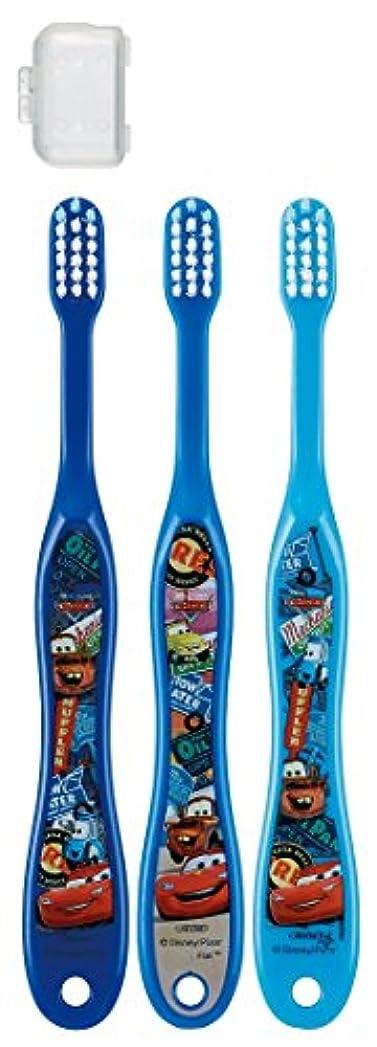 国勢調査北東自分スケーター 歯ブラシ 園児用 3-5才 毛の硬さ普通 3本組 カーズ 15 TB5T