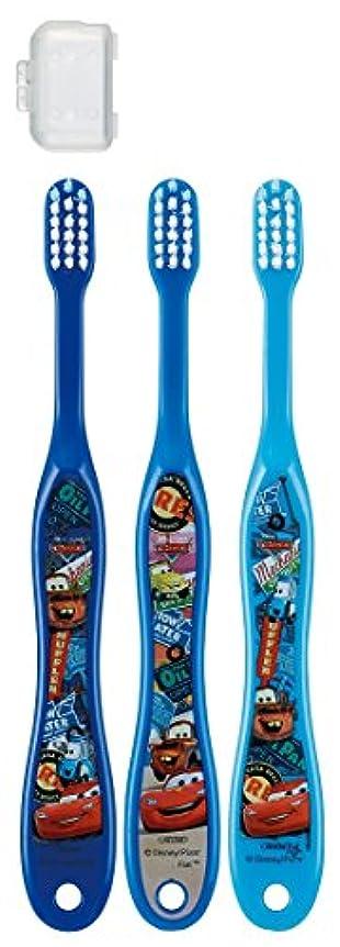 ピストン洞察力のある多様なスケーター 歯ブラシ 園児用 3-5才 毛の硬さ普通 3本組 カーズ 15 TB5T