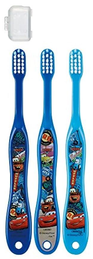 中央値建てるシーボードスケーター 歯ブラシ 園児用 3-5才 毛の硬さ普通 3本組 カーズ 15 TB5T