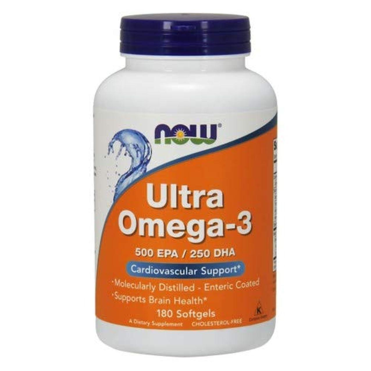 逸脱不名誉な優越Ultra Omega-3 180 sgels 3個パック