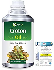 Croton (Crotonis Oleum) 100% Pure Natural Carrier Oil 5000ml/169 fl.oz.