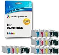 印刷の楽しさ20(4セット+ 4ブラック)LC1000 LC970 Brother DCP-130Cに対応DCP-135C DCP-150C 260C 330C 350C 357C 375CW 540CN 560CN 770CW Fax-2840 MFC-465CN - 大容量