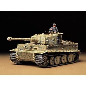 タミヤ 1/35 ミリタリーミニチュアシリーズ No.194 ドイツ陸軍 重戦車 タイガーI型 中期生産型 プラモデル 35194
